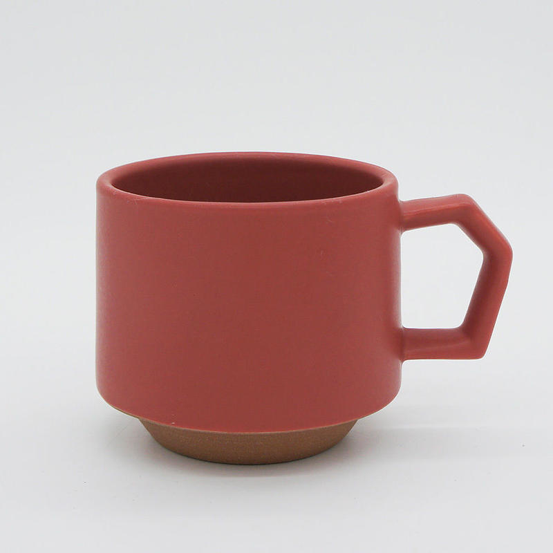 【CS001rd】CHIPS stack mug. MAT red