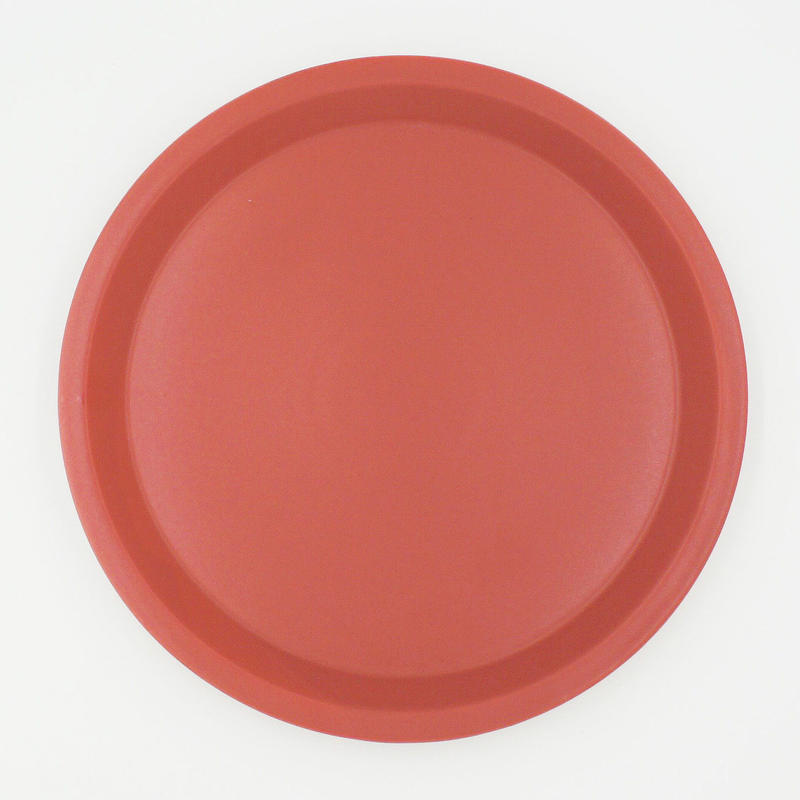 【CP001rd】CHIPS plate. MAT red