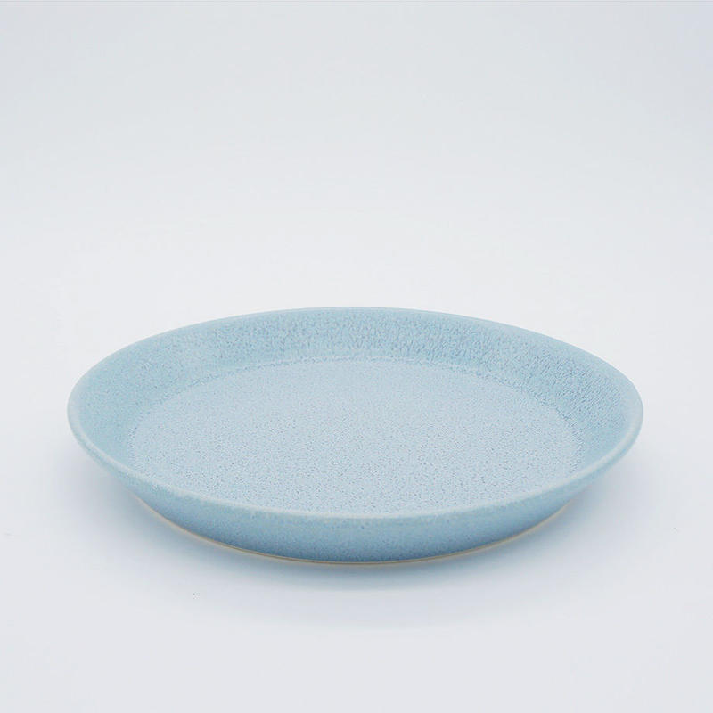 【M034bl】パンとごはんと... CAFE PLATE M  blue