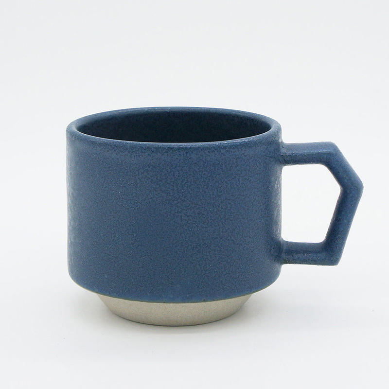 【CS001bl】CHIPS stack mug. MAT sand-blue