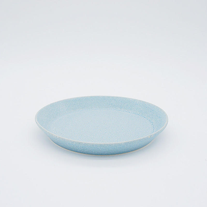 【M033bl】パンとごはんと... CAFE PLATE S  blue