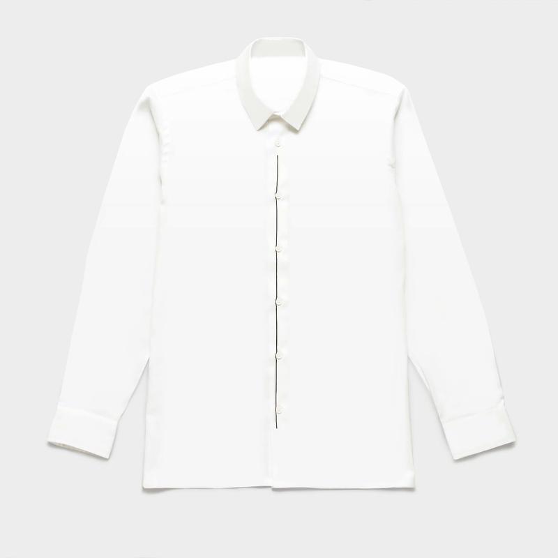 Shirts by Standピンオックスフォード シャツ(White) 00009