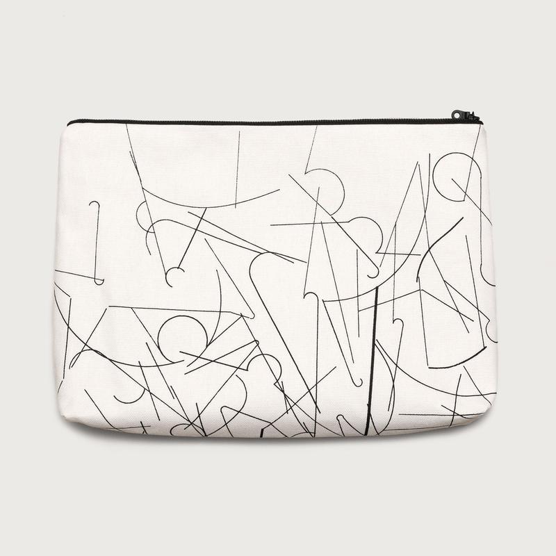 clutch bag  /  white D