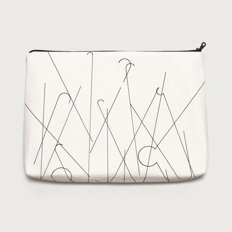 clutch bag  /  white B
