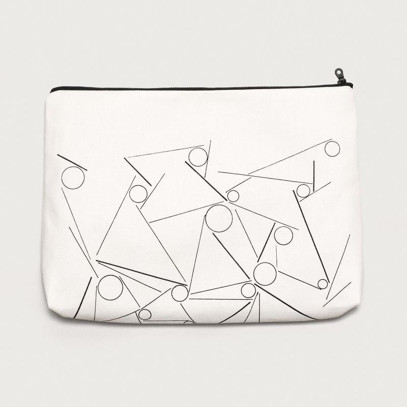 clutch bag  /  white A