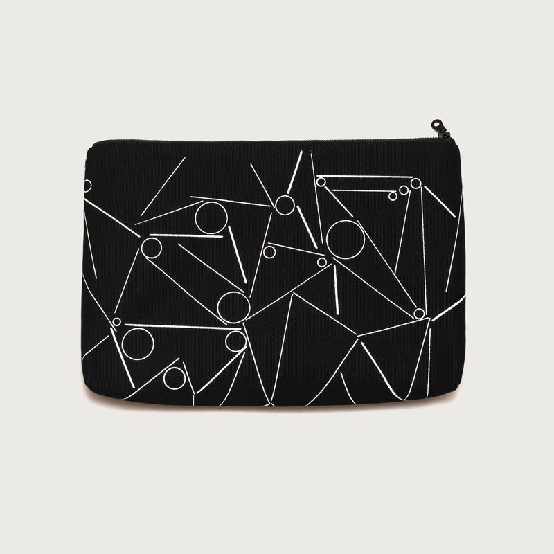 Clutch bag small  /  black B