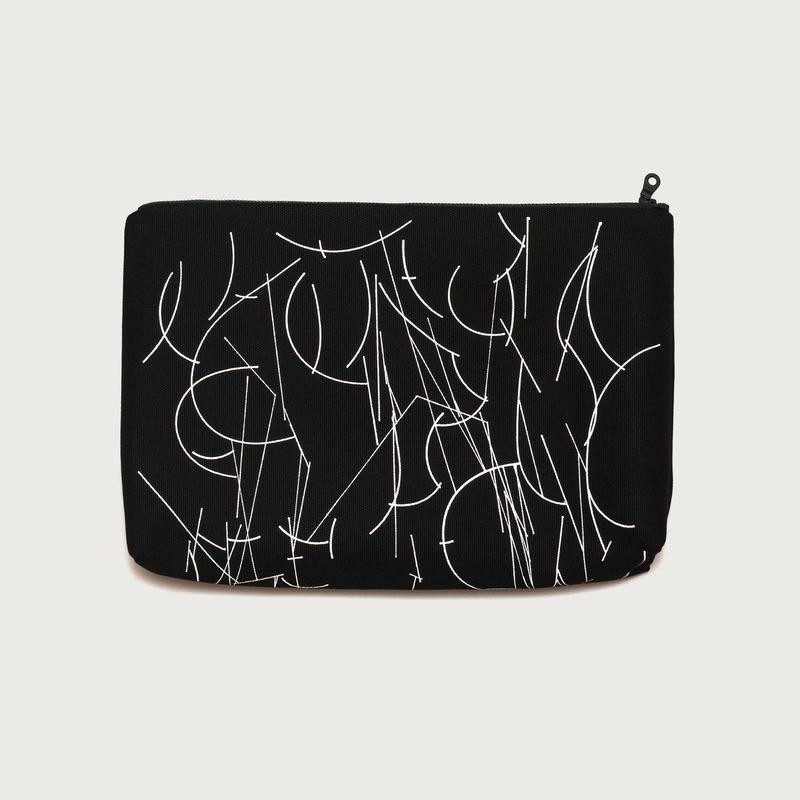 Clutch bag small  /  black C