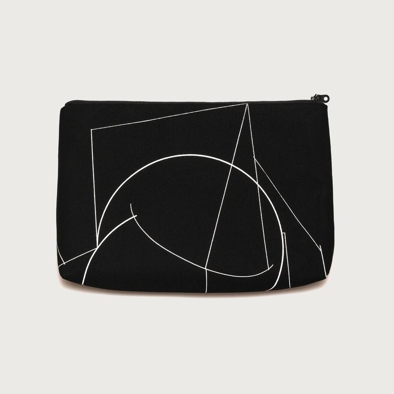 Clutch bag small  /  black A