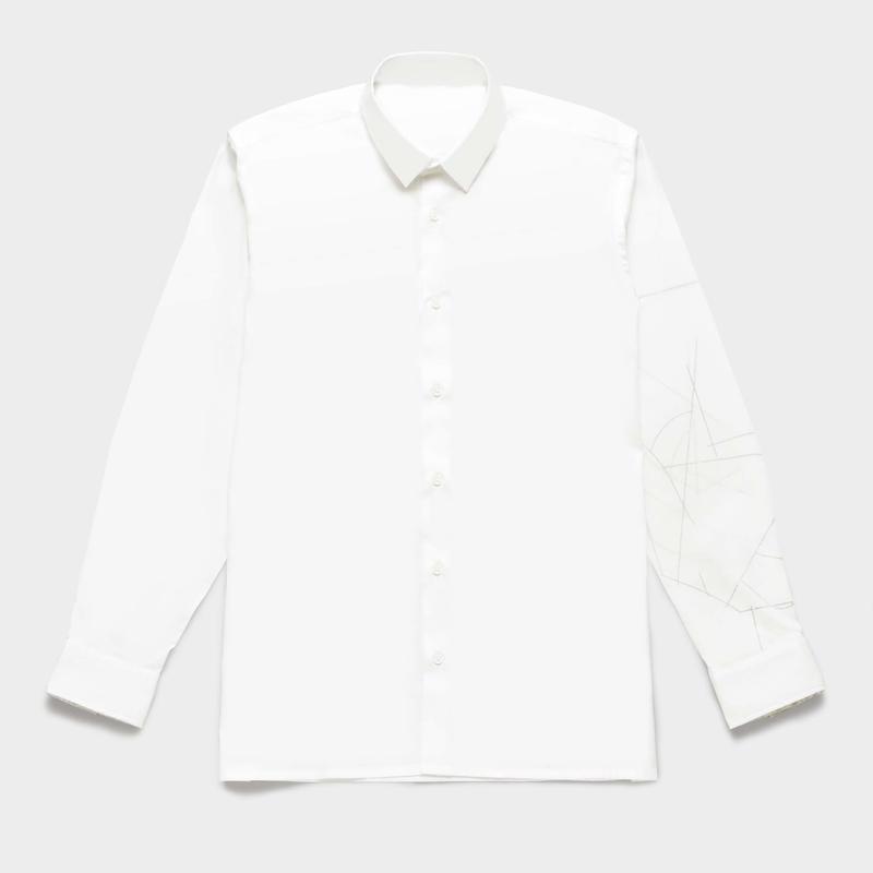 Shirts by Standピンオックスフォード シャツ(White) 00051