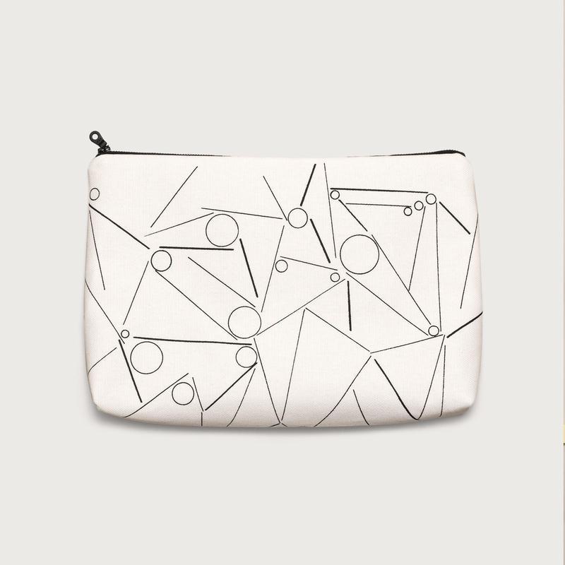 Clutch bag small  /  white B
