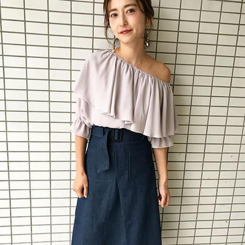 one-shoulder blouse AR181TP01