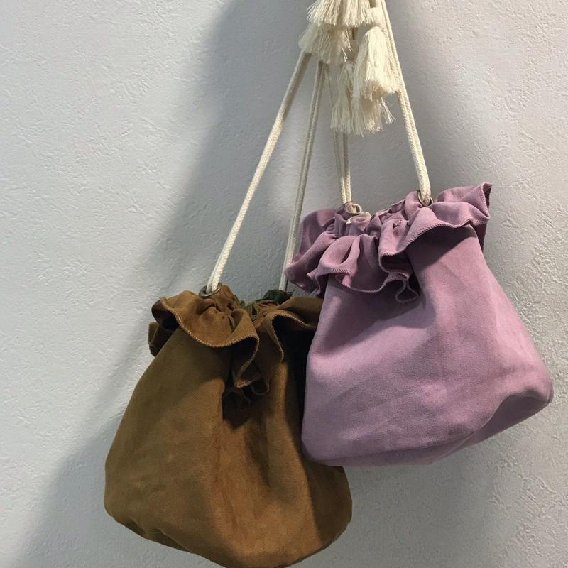 <ADIRA>reversible frill bag AR184BC01