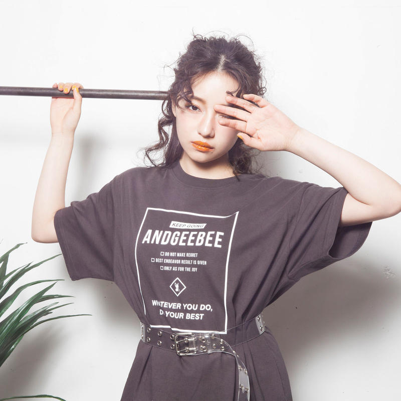 <ANDGEEBEE>【UNISEX】バックラインT AG192CS32