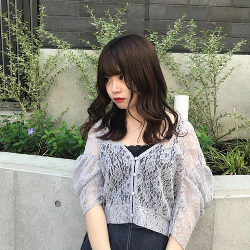 <ADIRA>lace cardigan AR181TP12