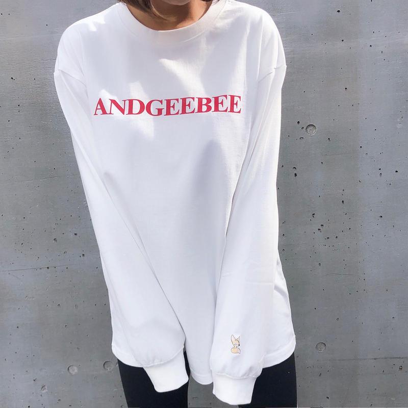 <ANDGEEBEE>【UNISEX】ANGBロゴロンT AG191CS05