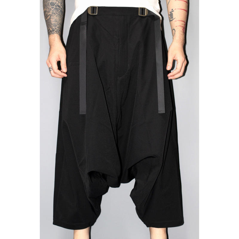 ACRONYM / P25-DS HD JERSEY ULTRAWIDE TROUSERS