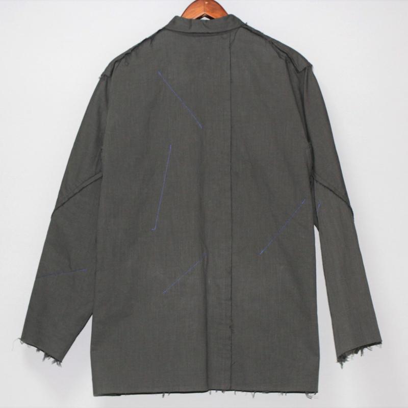 Yohji yamamoto pour homme / FW15 Reversible cotton jacket