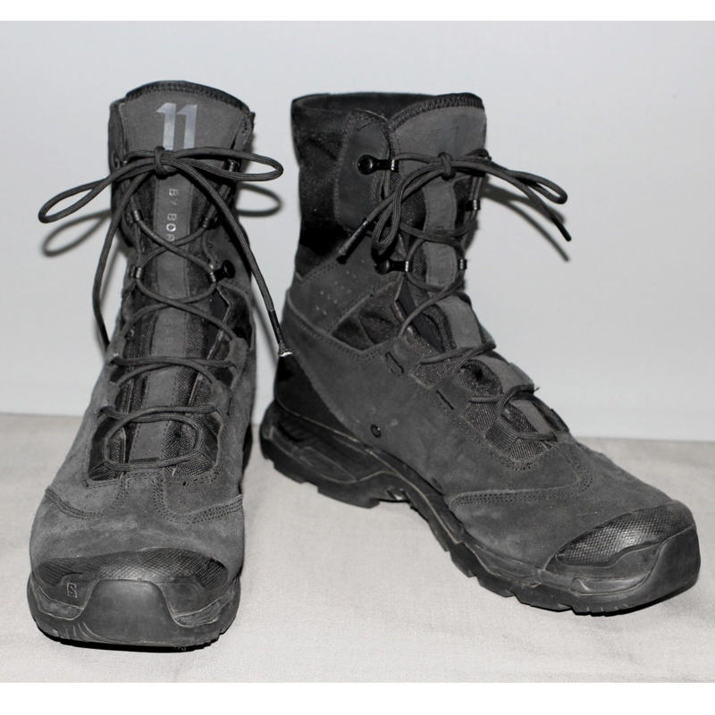 11 by BORIS BIDJAN SABERI /  x SALOMON Jungle Ultra boots