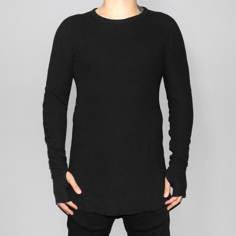 BORIS BIDJAN SABERI / AW15 DOUBLE FACE LONG SLEEVE T