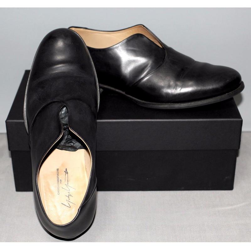 Yohji yamamoto pour homme x  Cherevichkiotvichki / 17ss Leather shoes