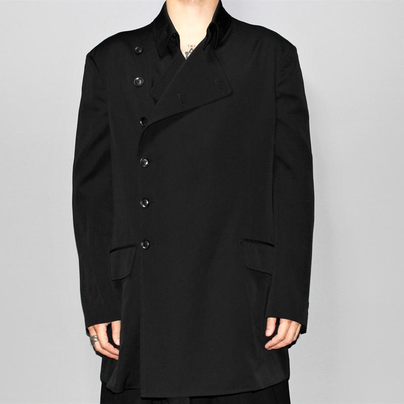 Yohji yamamoto pour homme / 18AW Double breasted coat jacket
