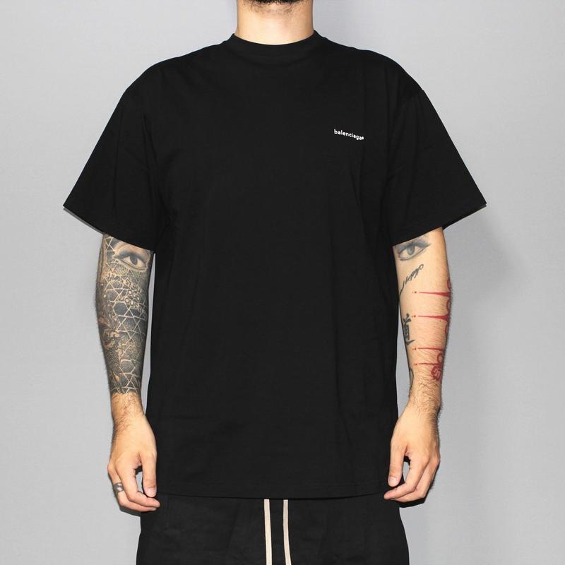 BALENCIAGA / Small logo T-shirts