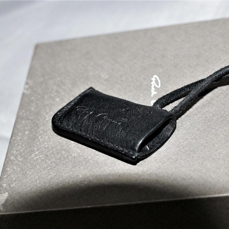 Rick owens / Leather lighter case necklace