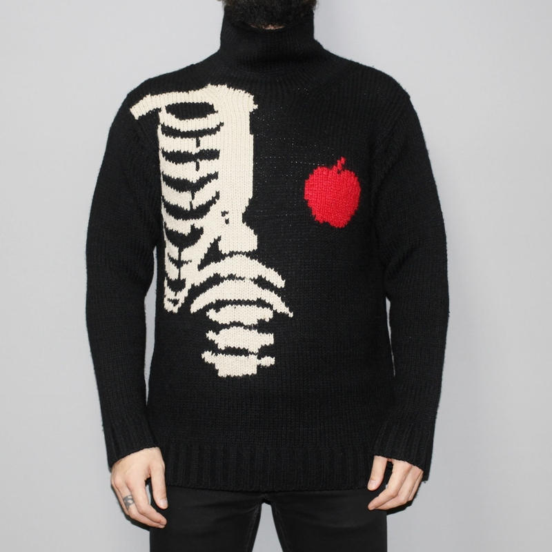 Yohji yamamoto pour homme / FW2011 High neck apple and bone Knit