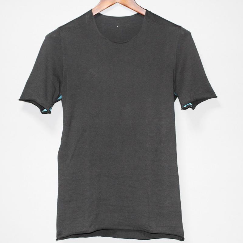 LABEL UNDER CONSTRUCTION / COTTON KNIT T-shirt