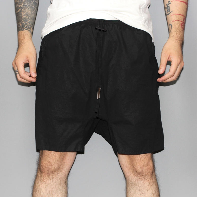 BORIS BIDJAN SABERI / 18SS P10 COTTON SHORTS