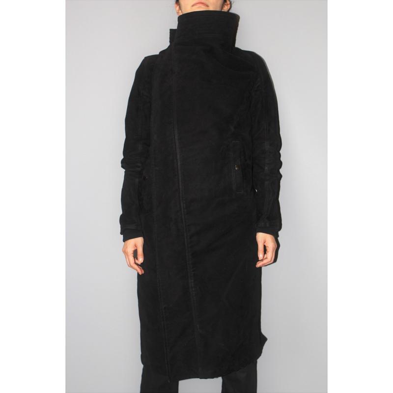 DRKSHDW by Rick owens / Padded moleskin coat