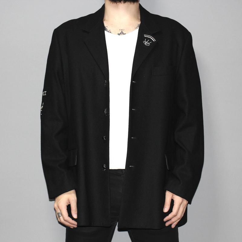 Yohji yamamoto pour homme (ARCHIVE) / PAIX Wool jacket