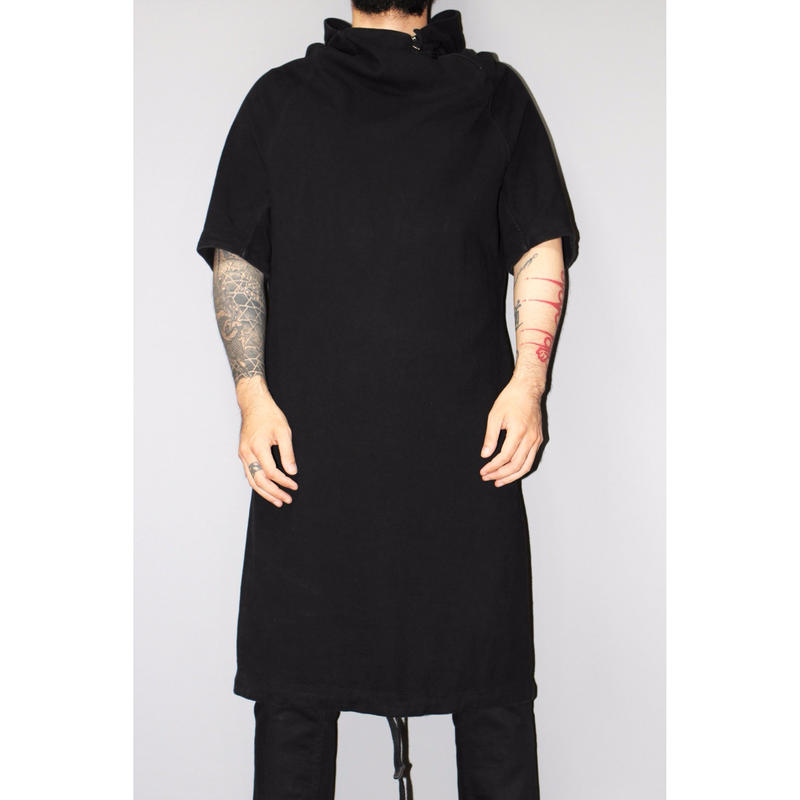 16AW BORIS BIDJAN SABERI / OVER SIZED LONG HOODIE