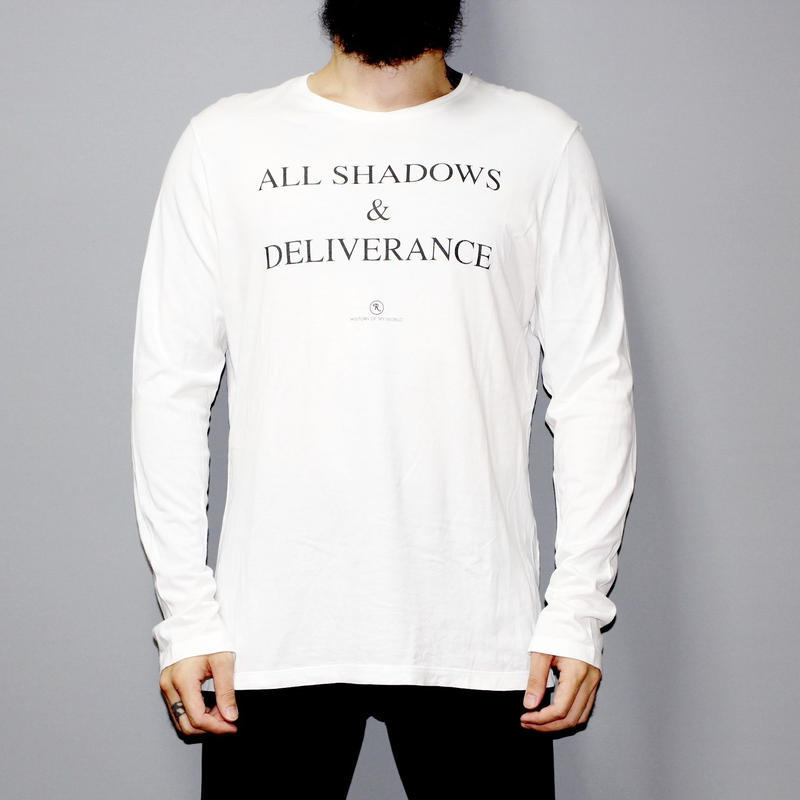 RAF SIMONS / ALL SHADOWS & DELIVERANCE LS T-shirt
