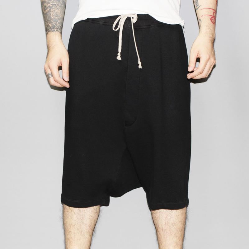 DRKSHDW by Rick owens /  POD SHORTS (Thick cotton sweat)