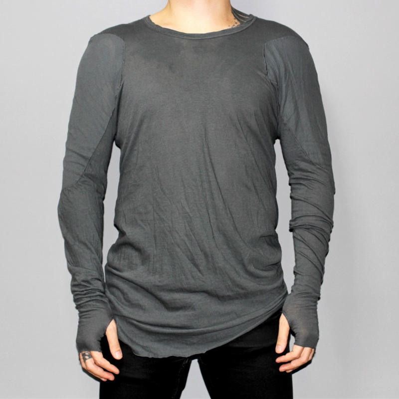 BORIS BIDJAN SABERI / Long sleeve T-shirt with Thumb holes