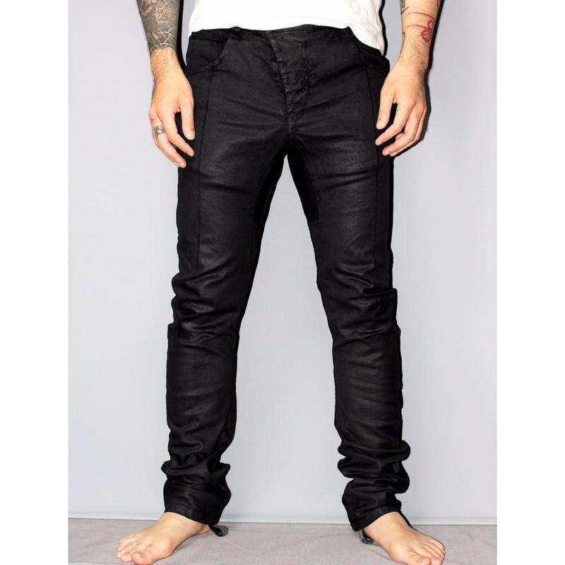 11 by BORIS BIDJAN SABERI / P13 coated jeans