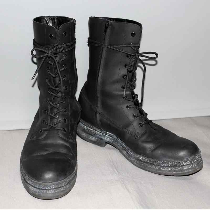 Yohji yamamoto pour homme / AW12 Combat boots