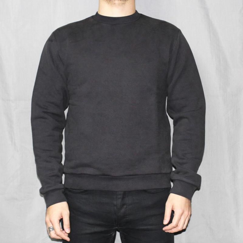 PRADA / Heavy weight sweat shirt.(Made in ITALY) / BLACK