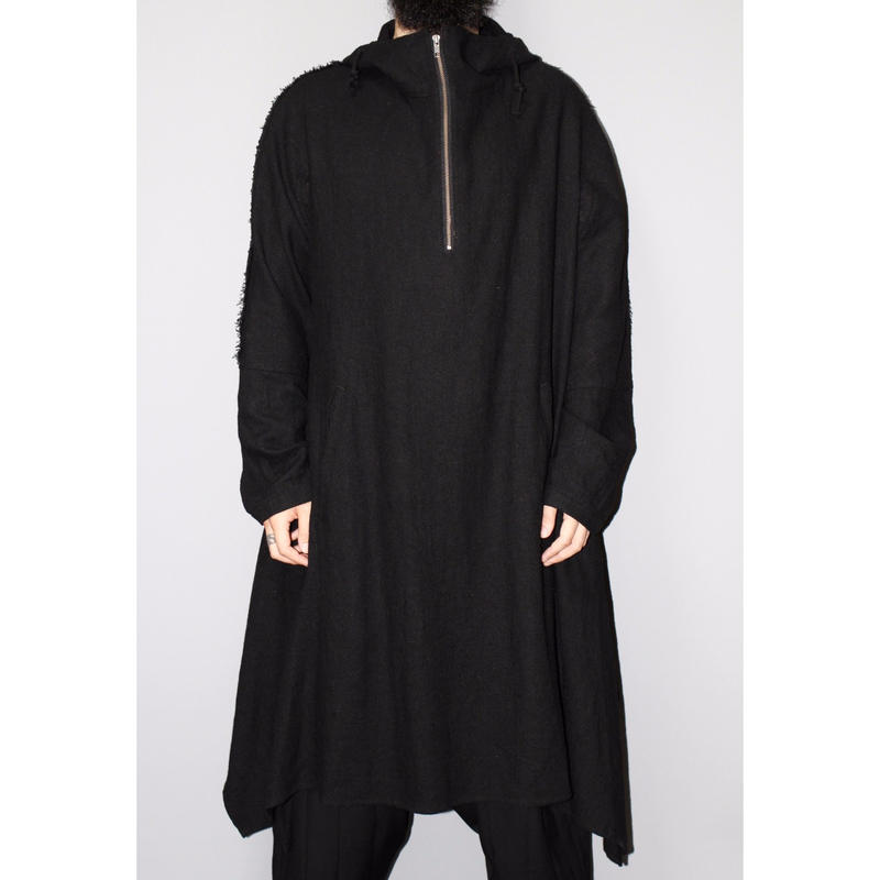 Yohji yamamoto pour homme / FW14 Pull over hooded coat