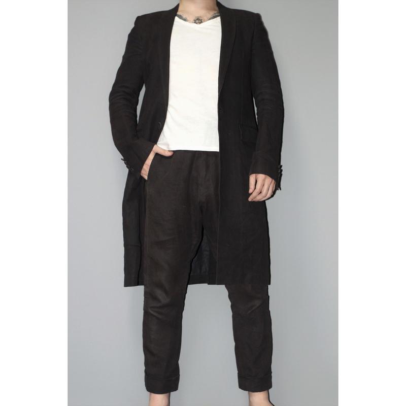 nude:masahiko maruyama / Long jacket x Cropped pants