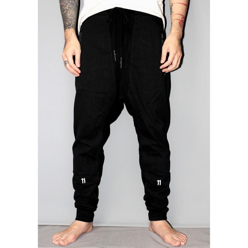 11 by BORIS BIDJAN SABERI / 17AW Sarouel jogger pants