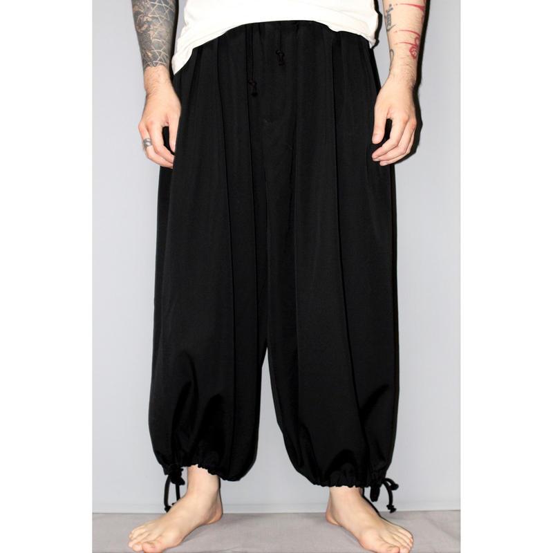 Yohji yamamoto pour homme / 18AW Wool gabardine balloon pants