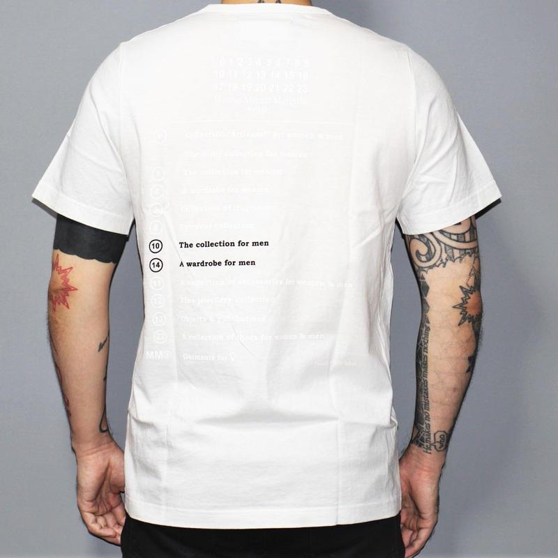 Maison Margiela / Logo back print T-shirt