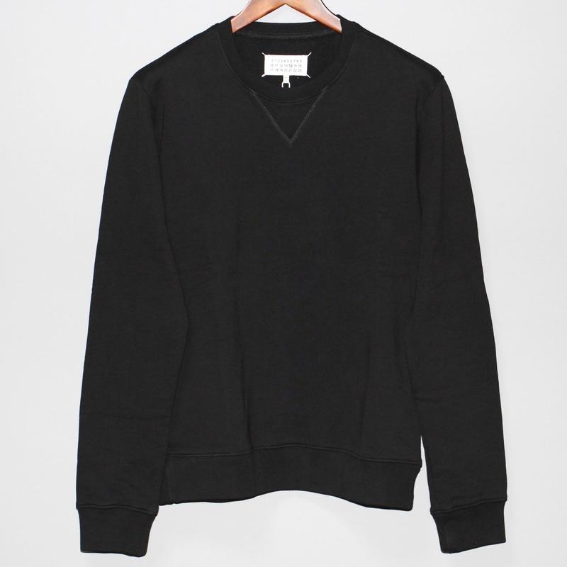 Maison Margiela / SS16 Leather elbow patch sweat shirt