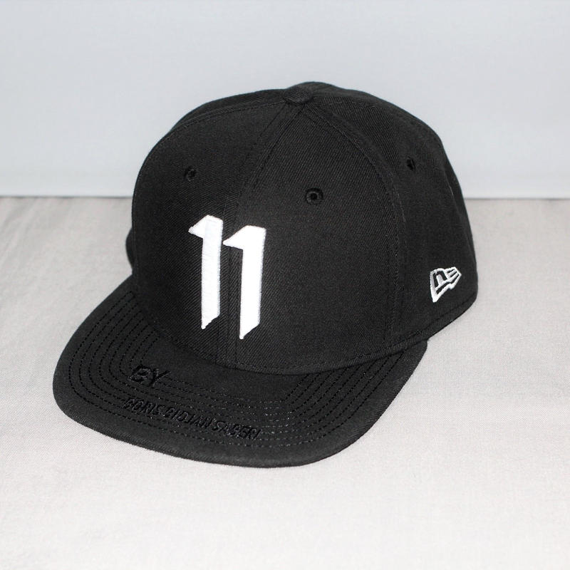 11 by BORIS BIDJAN SABERI / 11 logo new era cap