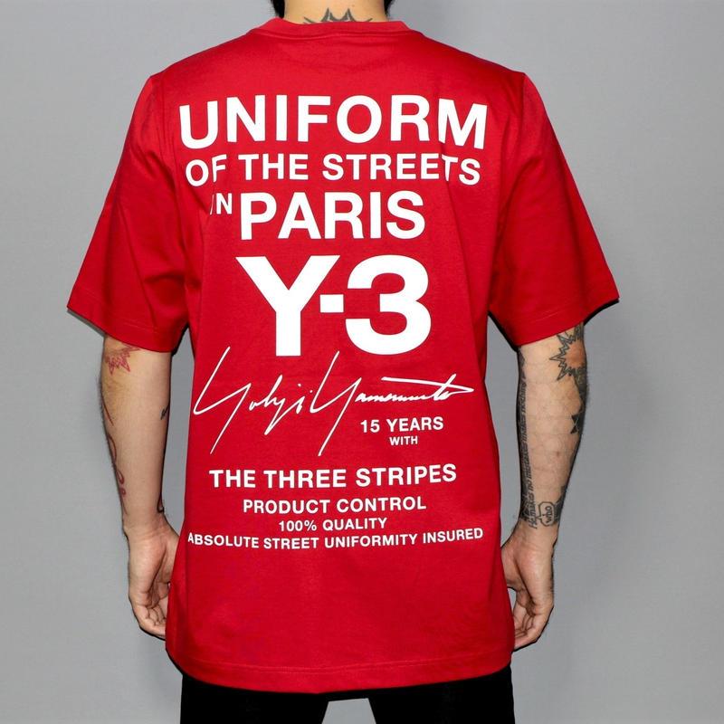 Y-3 / Limited edition for PARIS store UNIFORM T-shirt