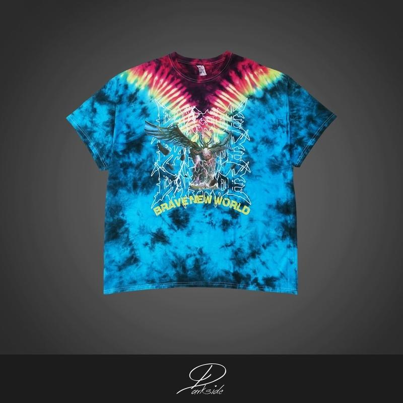 BRAVE NEW WORLD ~tie dye tee~