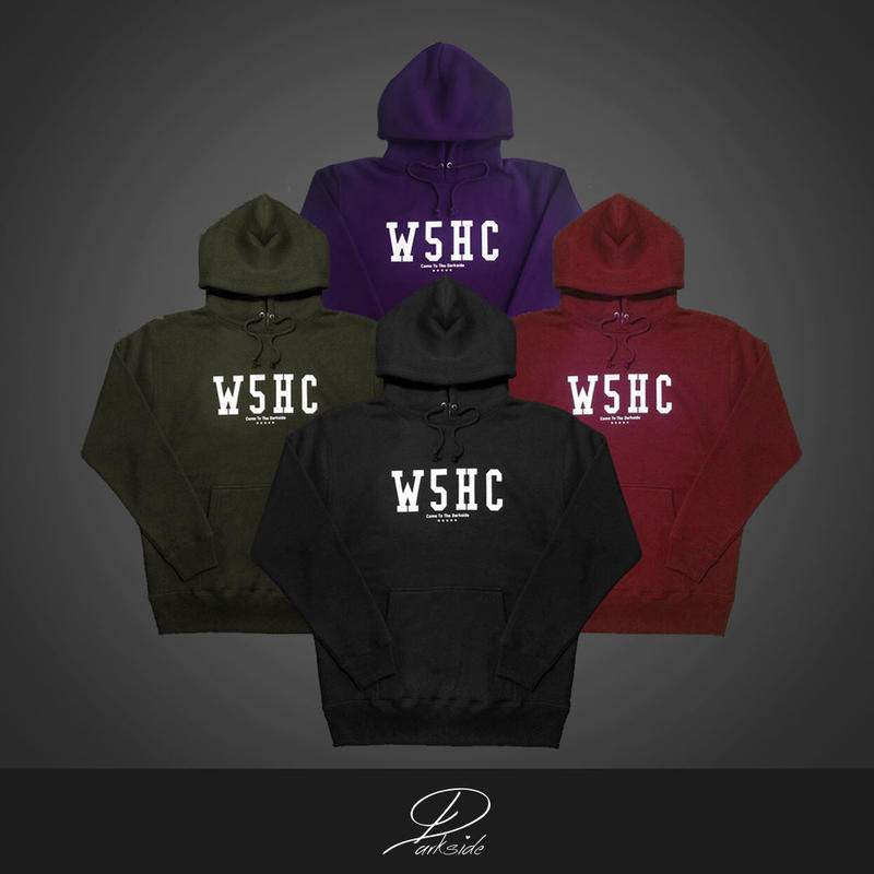 W5HC  / big logo hoodie
