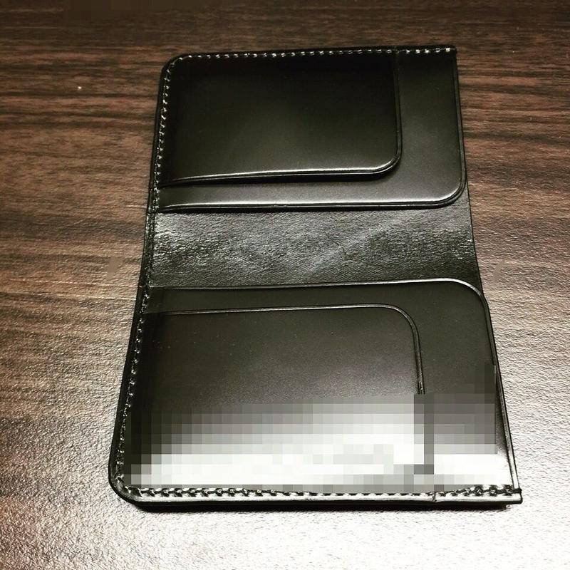 Card-case コードヴァン 黒